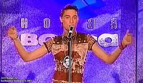 Дима Билан в Новой Волне (2002)