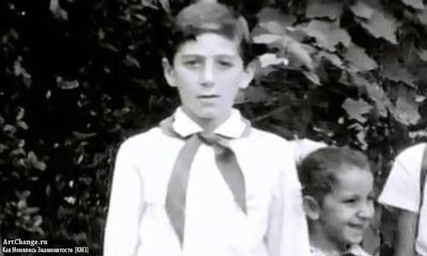 Григорий Лепс в детстве, юности