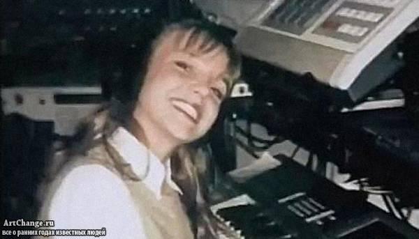 Юная Бритни Спир в студии