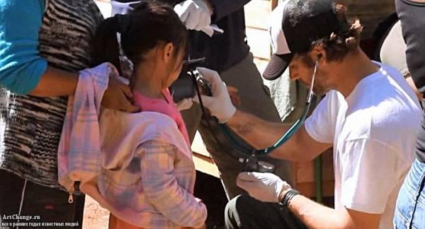 П.Уокер помогает больным людям