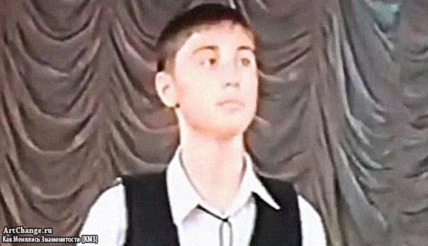 Дима Билан в юности в проекте Молодые голоса Кавказа