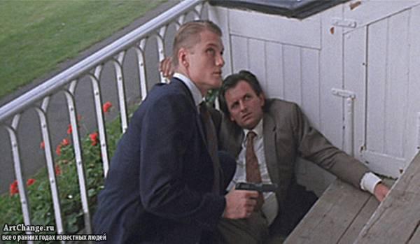 Вид на убийство (1985), в ролях Дольф Лундгрен в молодости