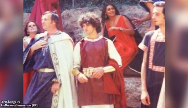 Юный Антонио Бандерас в молодости играет в постановке