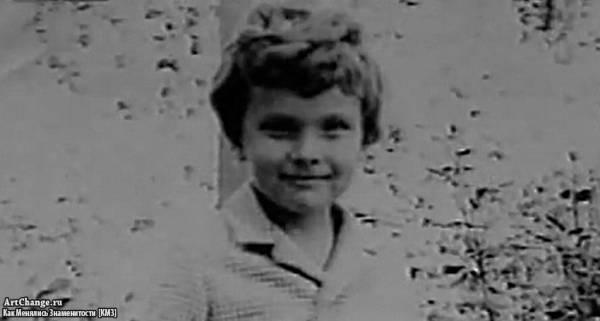 Дмитрий Нагиев в детстве, юности