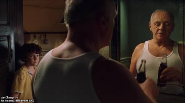 Сердца в Атлантиде (2001), в ролях Антон Ельчин,Энтони Хопкинс