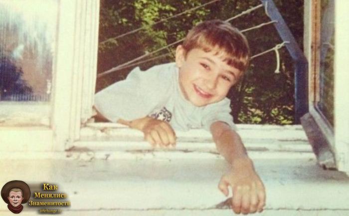 Эльдар Джарахов в детстве, юности