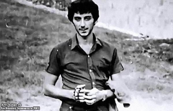 Молодой Григорий Лепс