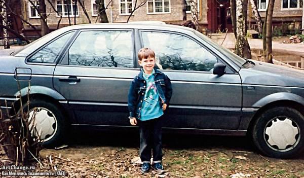 Кирилл Толмацкий (Децл, Le Truk) в детстве