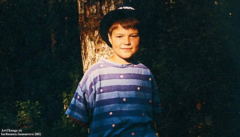 данила козловский в детстве фото