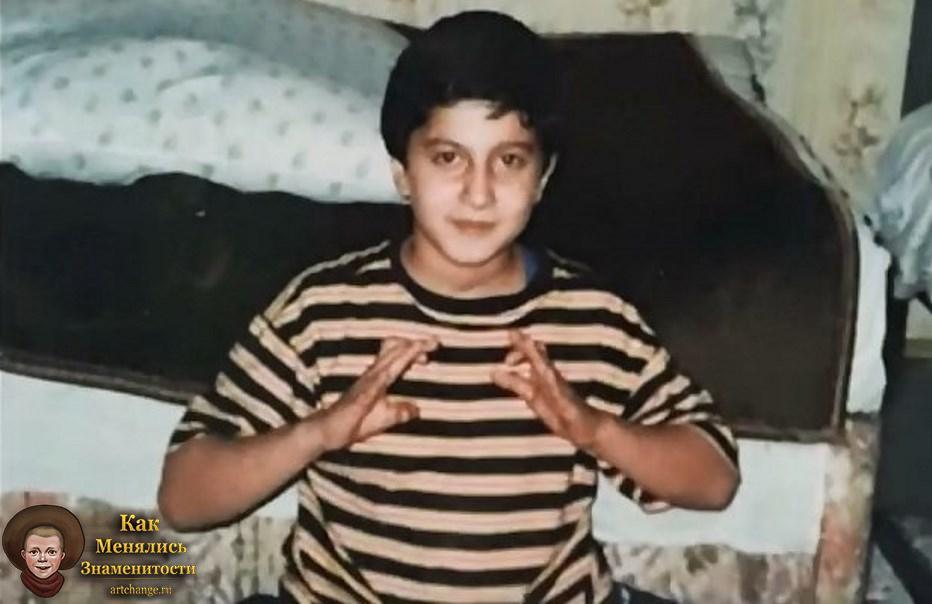 в детстве фото амиран сардаров