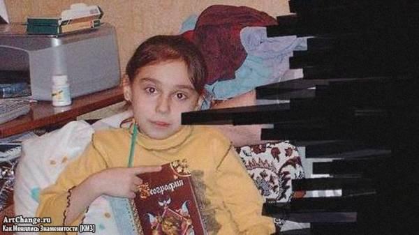 Милена Чижова в детстве