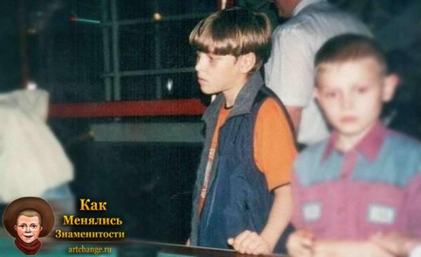 Ник Черников в детстве, юности