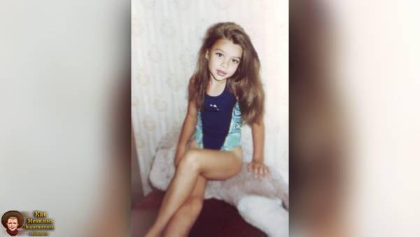 Мария Вэй / Maria Way в детстве, юности