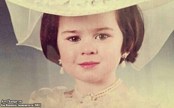 Юлия Пушман (Julia Pushman) в детстве