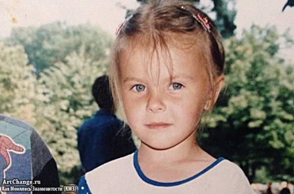 Анастасия Шпагина в детстве (1998, Одесса)