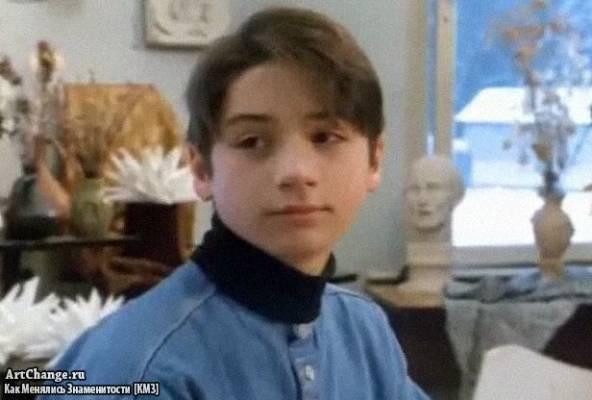 Сергей Лазарев в Ералаше (1997 год) в детстве