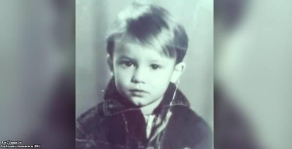Макс Корж в детстве