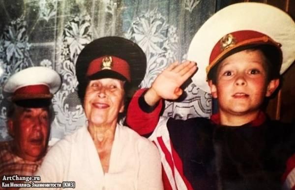 Кравц (Павел Кравцов) в детстве
