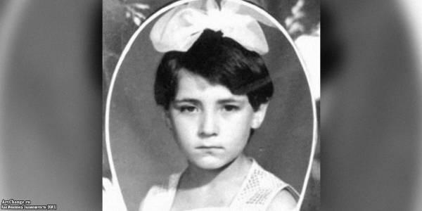 Земфира Рамазанова в детстве, юности