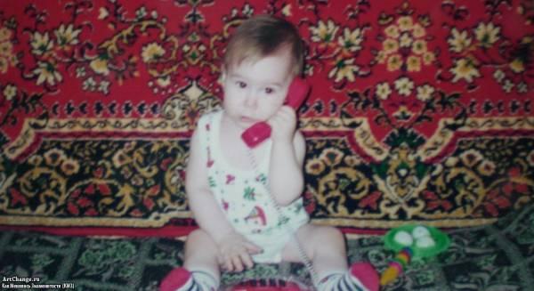 Никита Морозов в детстве