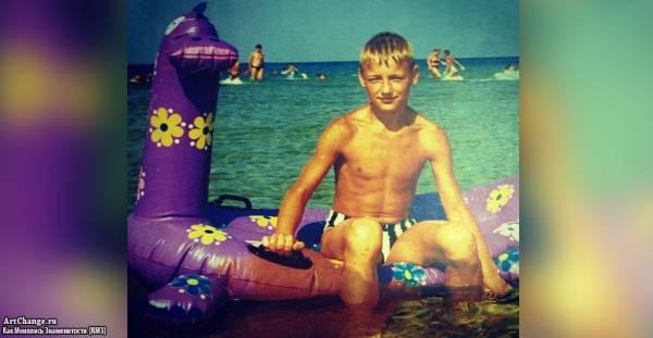 Алексей Воробьёв в детстве, юности