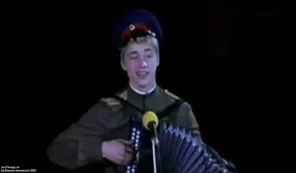 Молодой Алексей Воробьёв в Дельфийских играх