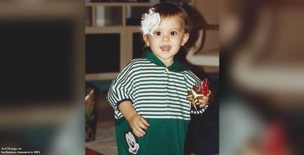 Ариана Гранде в детстве